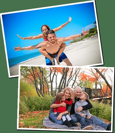 Liebevoller Partner und Familienvater